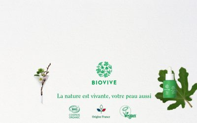 Biovive, la marque de cosmétique qui réinvente le bio