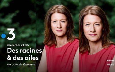 Coiffure pour Carole Gaessler – Émission Le Morbihan, entre terre et océan